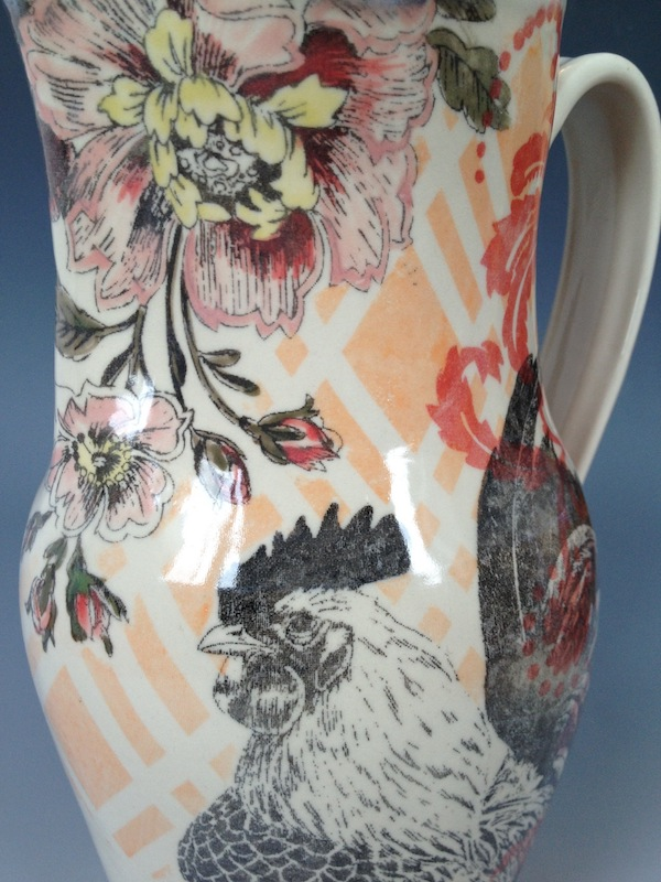 rooster-pitcher-detail